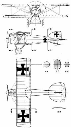 Albatros D-II