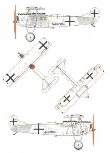 Fokker D.VII F