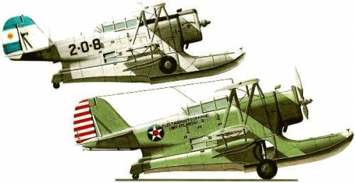 Blueprints Ww2 Airplanes Grumman Grumman J2f 5 Duck