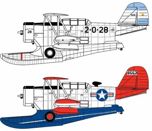 Blueprints Ww2 Airplanes Grumman Grumman J2f Duck
