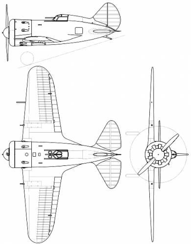 И-16 чертежи и