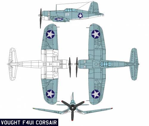 Vought F4U1 Corsair