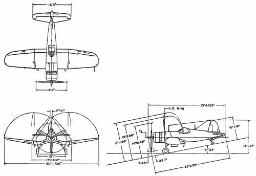 Vought F-4U-1D
