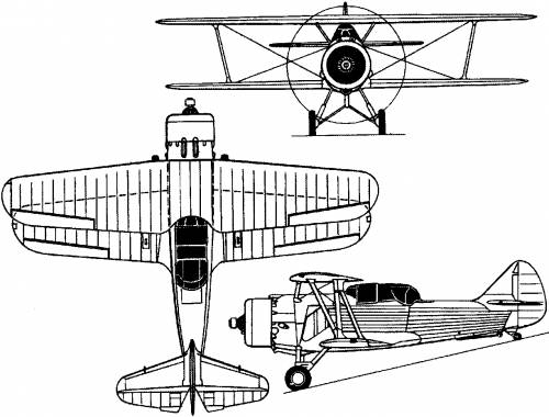 Vought XF3U-1 (USA) (1933)