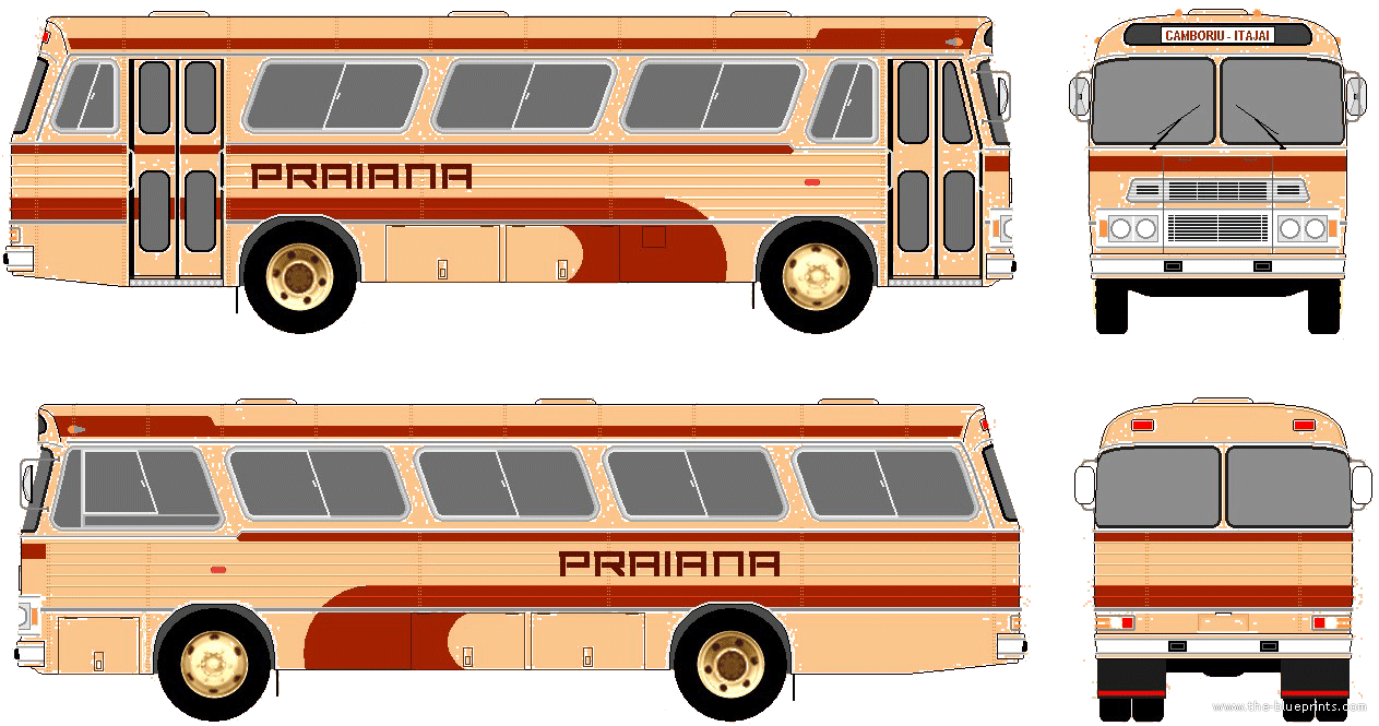 Mercedes-Benz LPO-1113 Bus (1972)