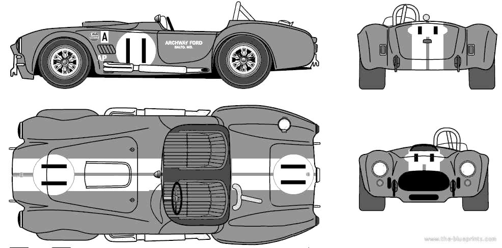 Magnificent sports car blueprints gift schematic diagram
