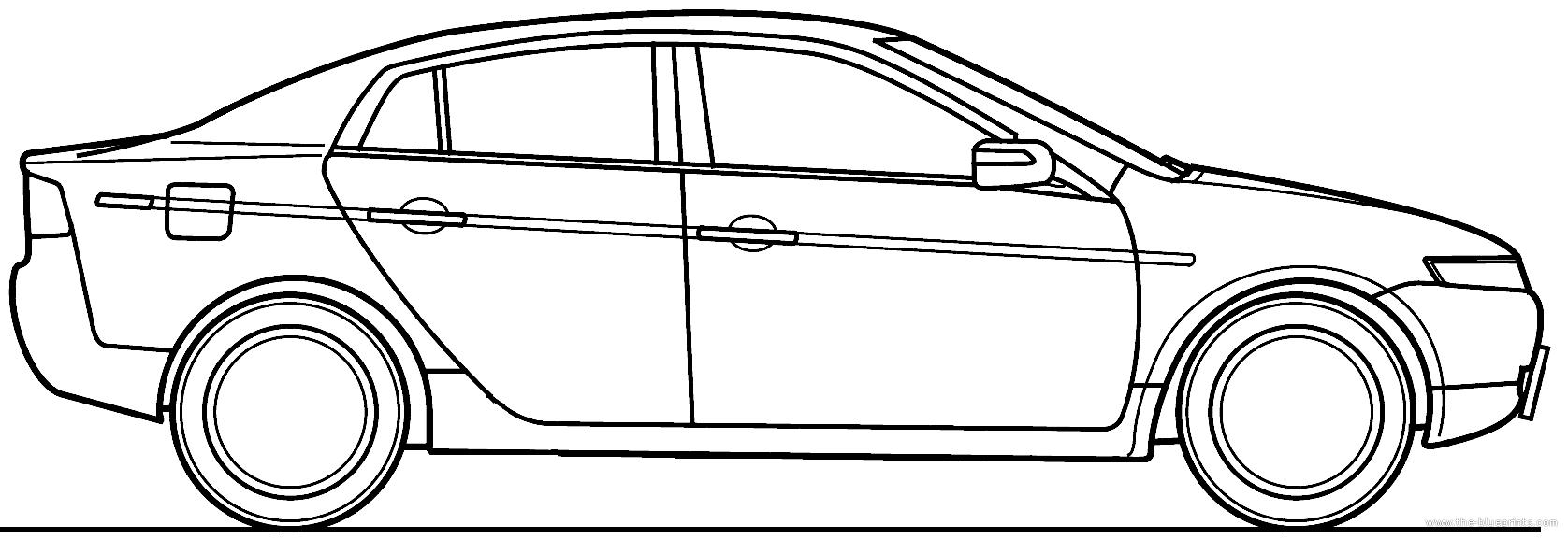 The blueprints blueprints cars acura acura tl 2008 acura tl 2008 malvernweather Choice Image