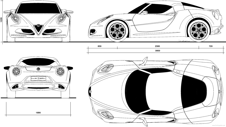 the-blueprints - blueprints > cars > alfa romeo > alfa romeo 4c