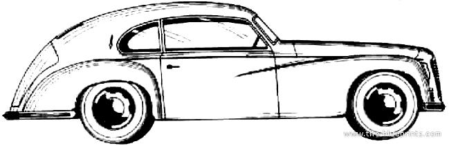 ... > Cars > Alfa Romeo > Alfa Romeo 6C 2500 Sport Freccia d'Oro (1949