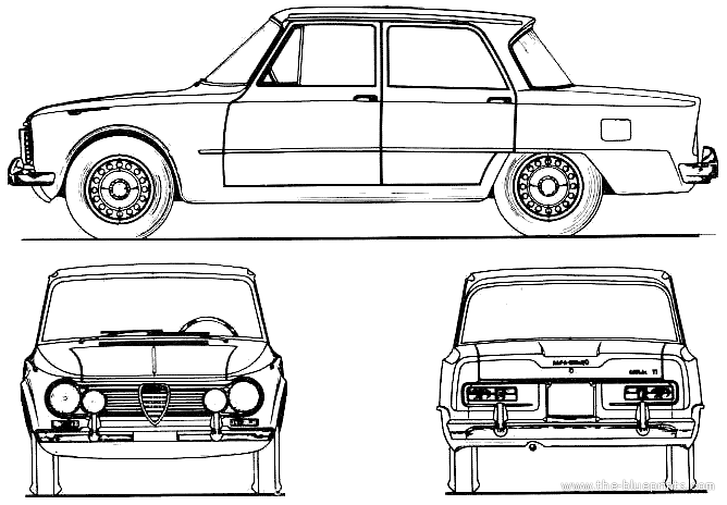 blueprints  u0026gt  cars  u0026gt  alfa romeo  u0026gt  alfa romeo giulia ti  1964