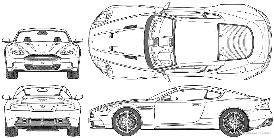 Aston Martin Blueprint