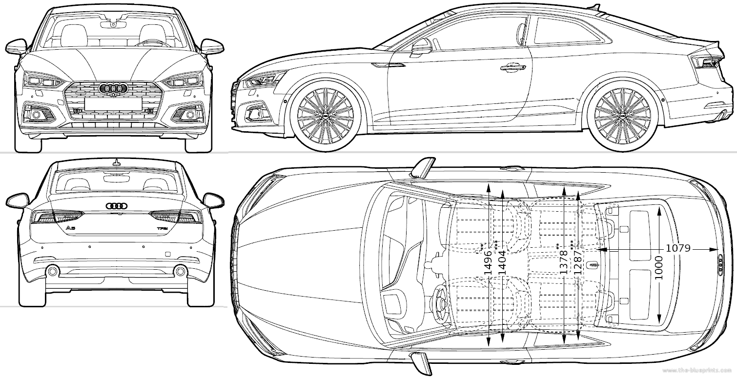 blueprints  u0026gt  cars  u0026gt  audi  u0026gt  audi a5 coupe  2016