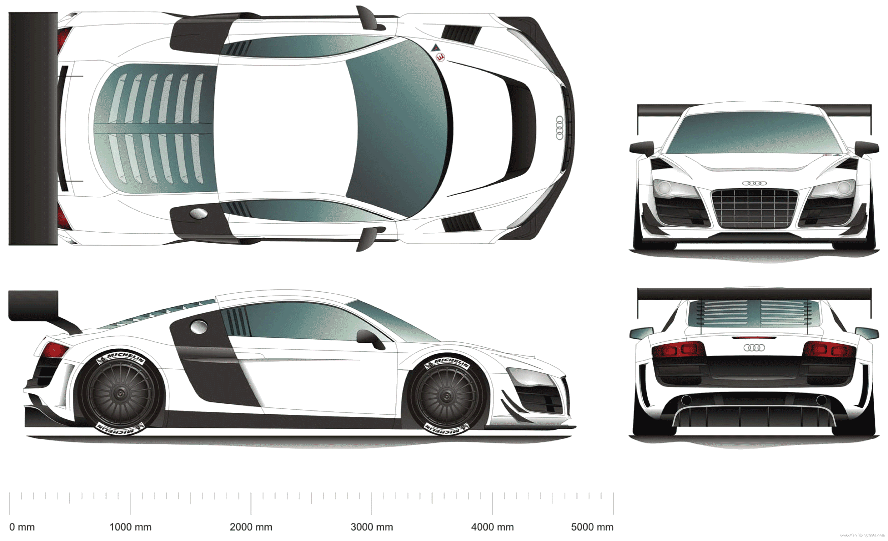 The Blueprints Com Blueprints Gt Cars Gt Audi Gt Audi R8 Alms