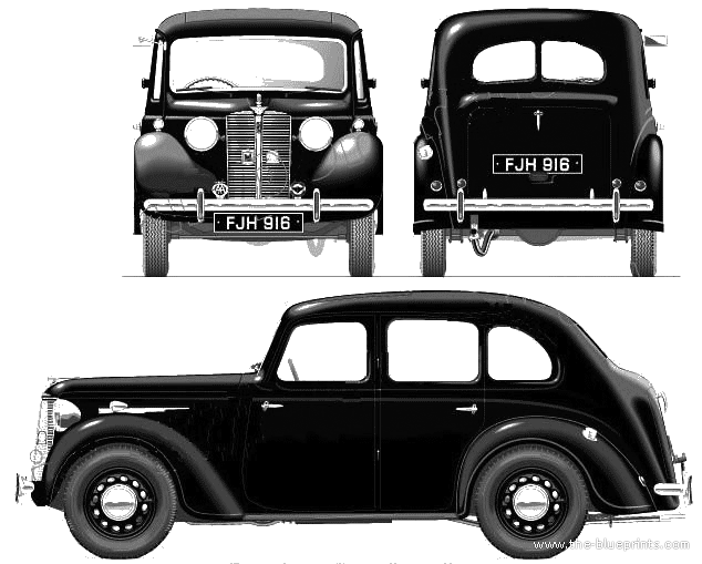 Gallery of all models of Austin: Austin 10, Austin 10 Cambridge ...