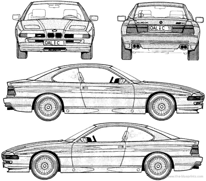 The Blueprints Com Blueprints Gt Cars Gt Bmw Gt Alpina B12