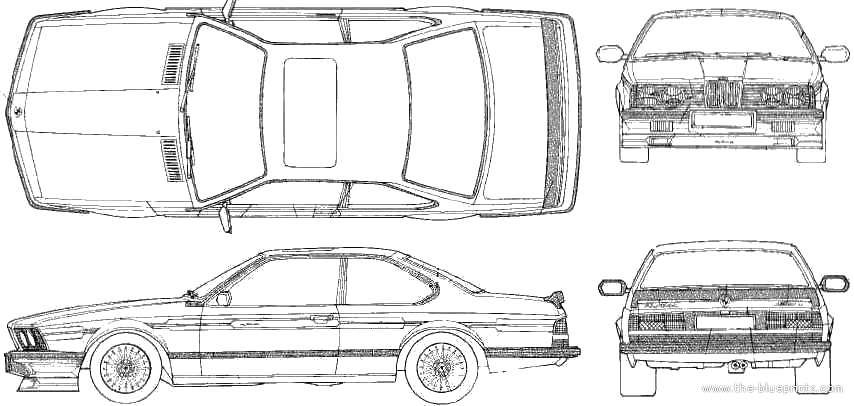 The Blueprints Com Blueprints Gt Cars Gt Bmw Gt Alpina B7