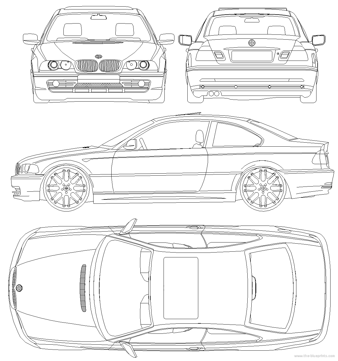 blueprints  u0026gt  cars  u0026gt  bmw  u0026gt  bmw 3