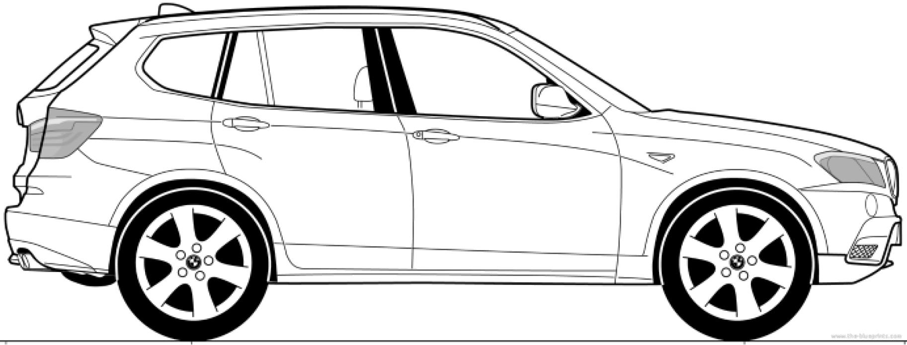 The Blueprints Com Blueprints Gt Cars Gt Bmw Gt Bmw X3 E83