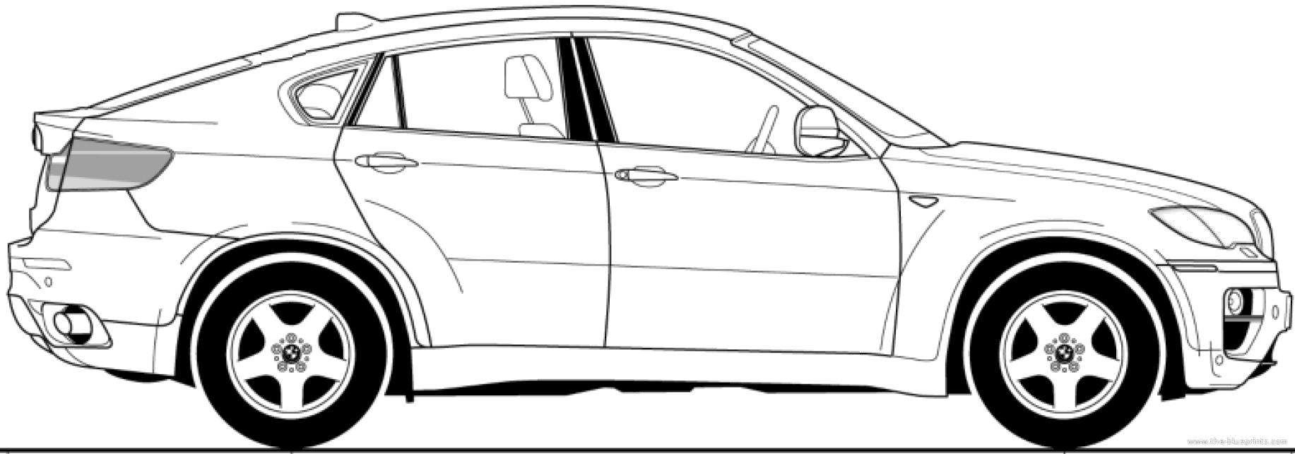 The Blueprints Com Blueprints Gt Cars Gt Bmw Gt Bmw X6 E71