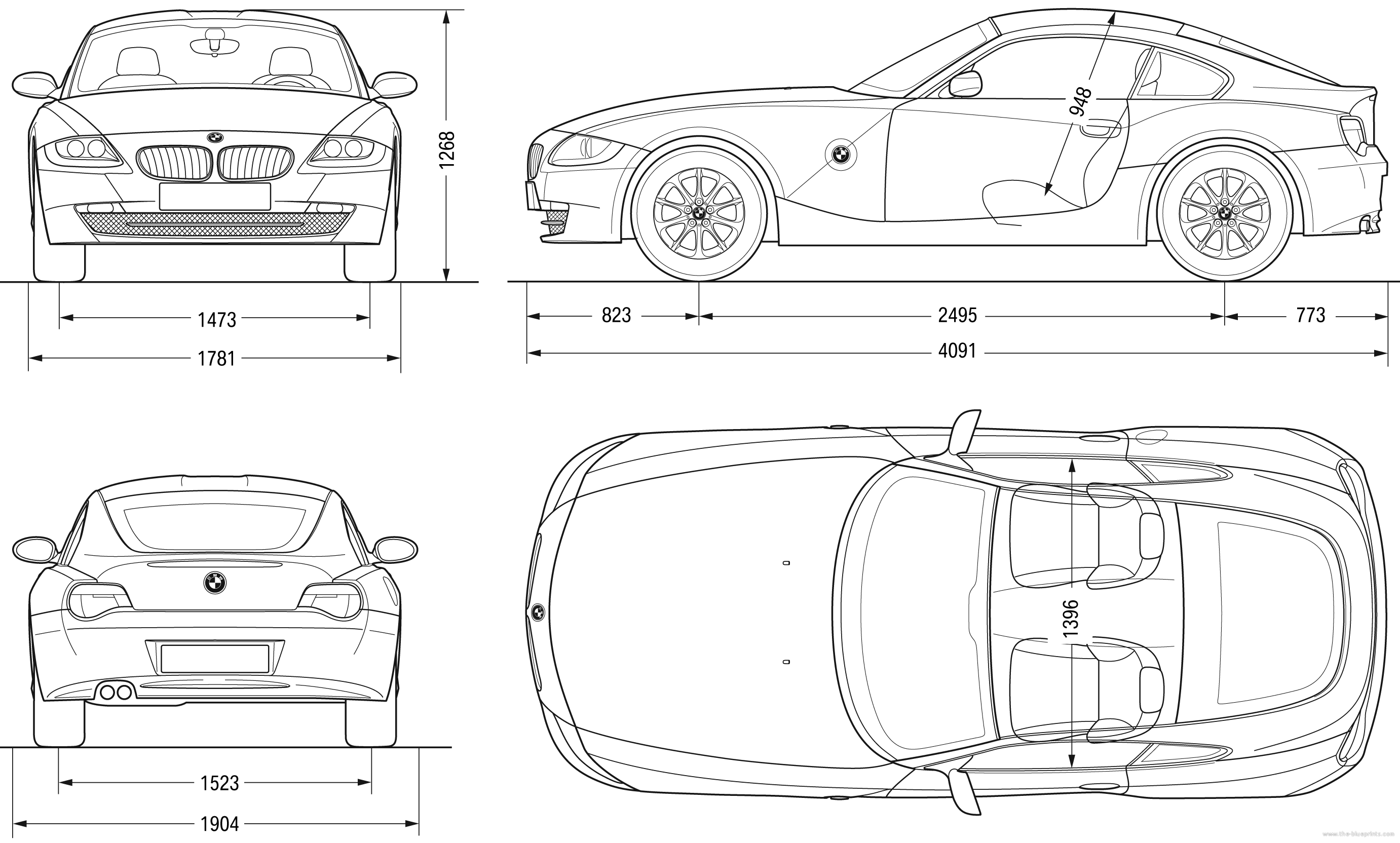 The Blueprints Com Blueprints Gt Cars Gt Bmw Gt Bmw Z4