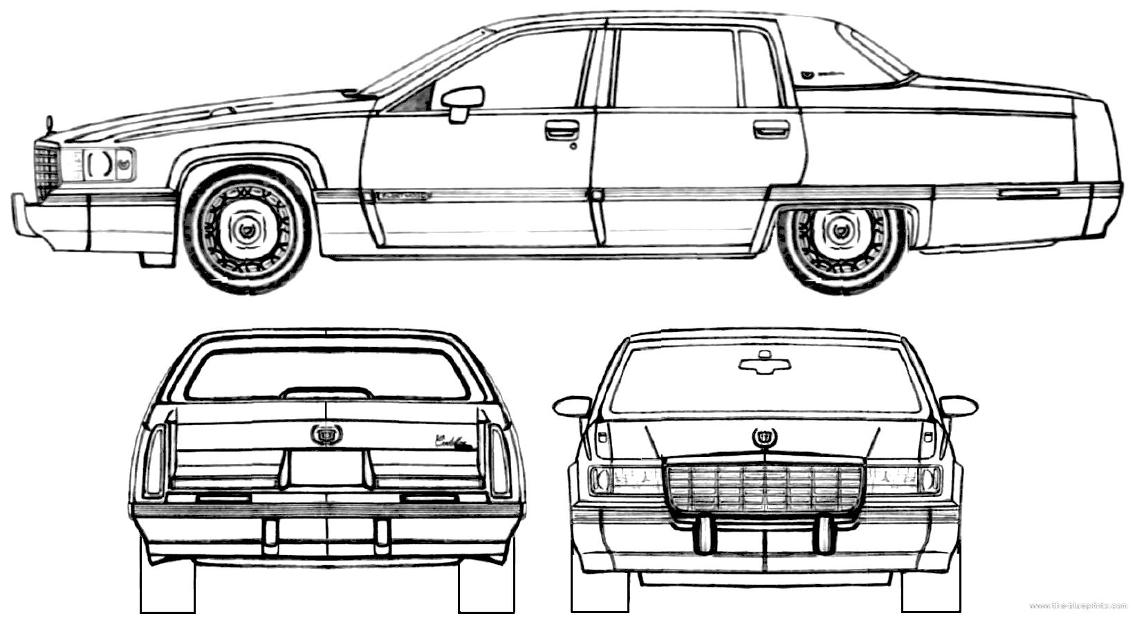 Cadillac Blueprints