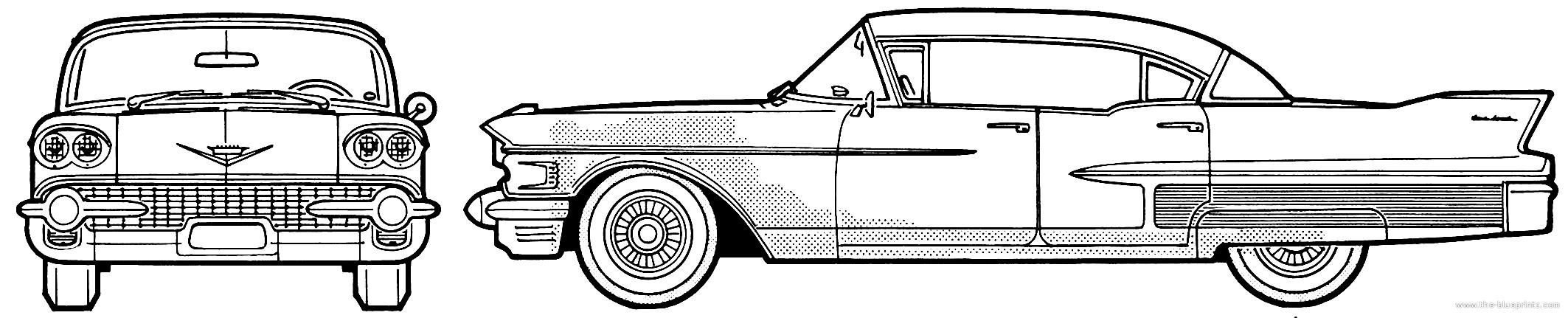 Blueprints > Cars > Cadillac > Cadillac Fleetwood Sixty Special ...