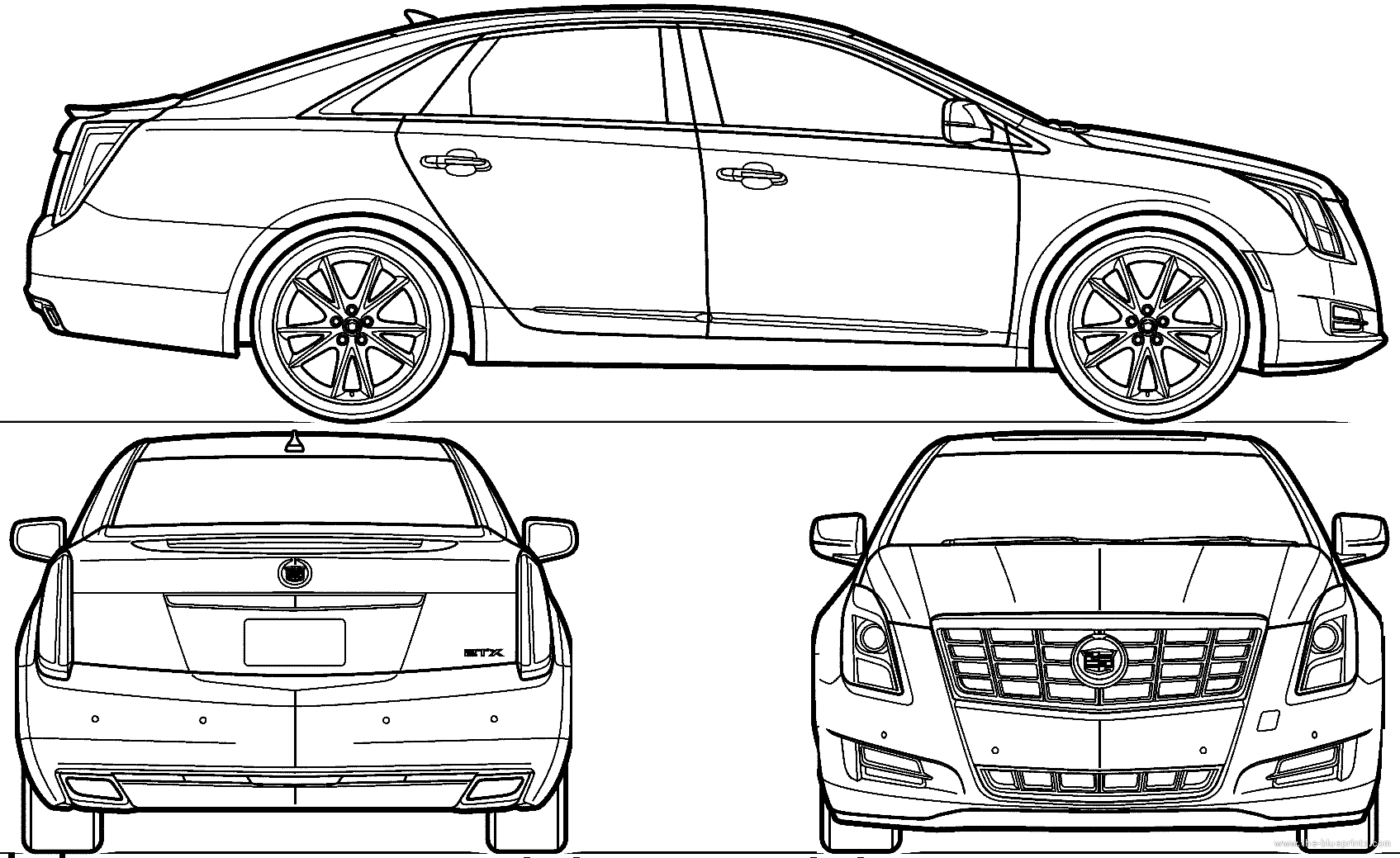 How to draw a cadillac logo for How to draw blueprints online