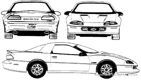 Camaro Muscle Car