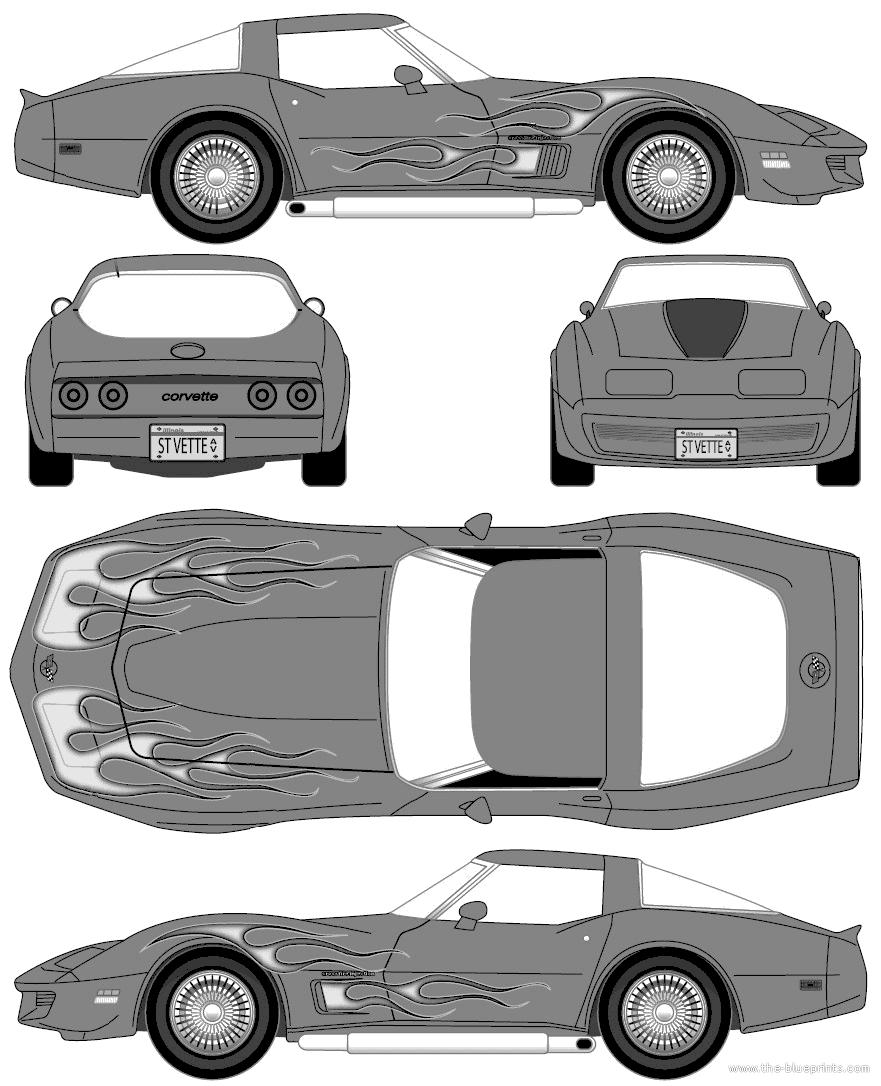 corvette comment on this picture blueprints cars chevrolet corvette