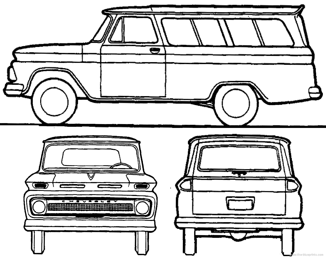 1965 Chevy Truck Drawings 6066 Idea Page315 Best Cartoon Corvair Wiring Diagram Diy Enthusiasts