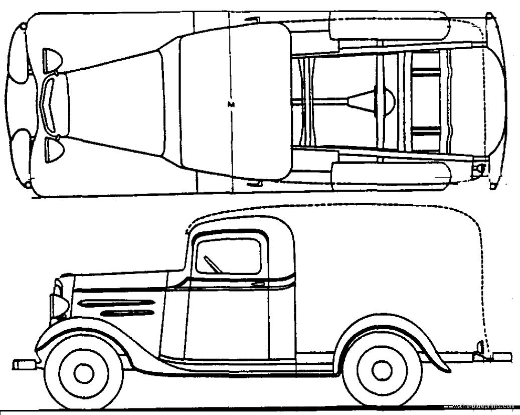 blueprints  u0026gt  cars  u0026gt  chevrolet  u0026gt  chevrolet truck 1t  1936