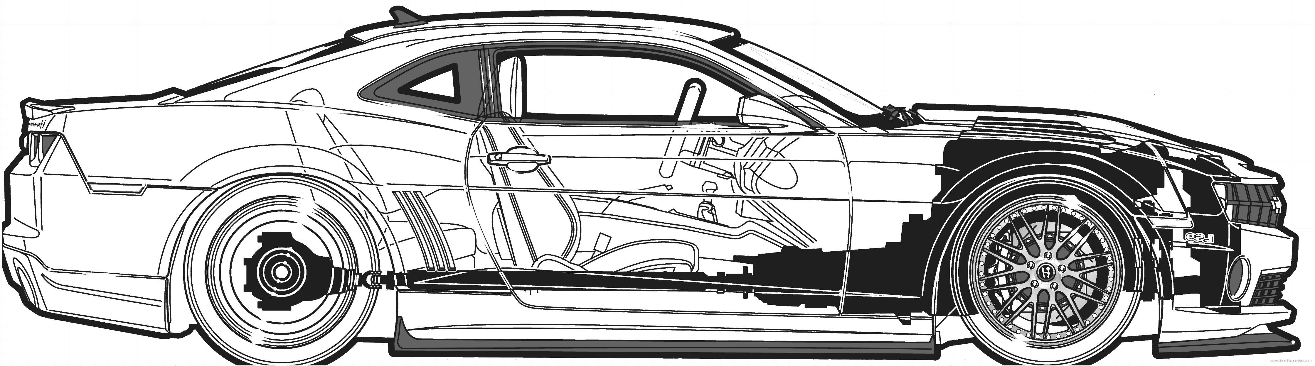 Car blueprints camaro malvernweather Images