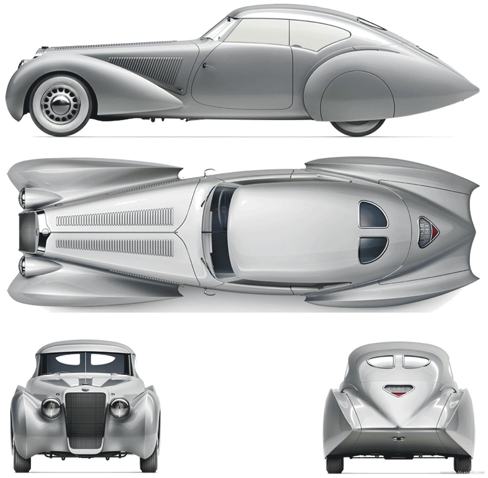 Blueprints > Cars > Delage > Delage D8 120S (1936)