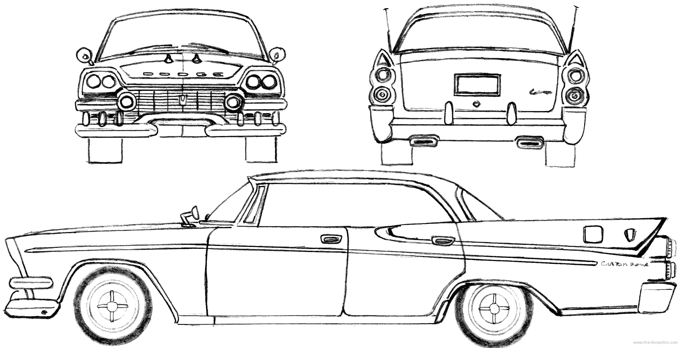 Front Suspension Diagram moreover 1972 Chevy Truck Steering Column Diagram together with 1952 Buick Harness Diagram additionally 1964 Buick Skylark Fuse Box Diagram in addition Dodge Custom Royal Lancer. on 1955 buick riviera parts
