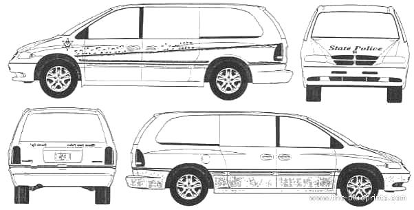 blueprints  u0026gt  cars  u0026gt  dodge  u0026gt  dodge grand caravan  1995