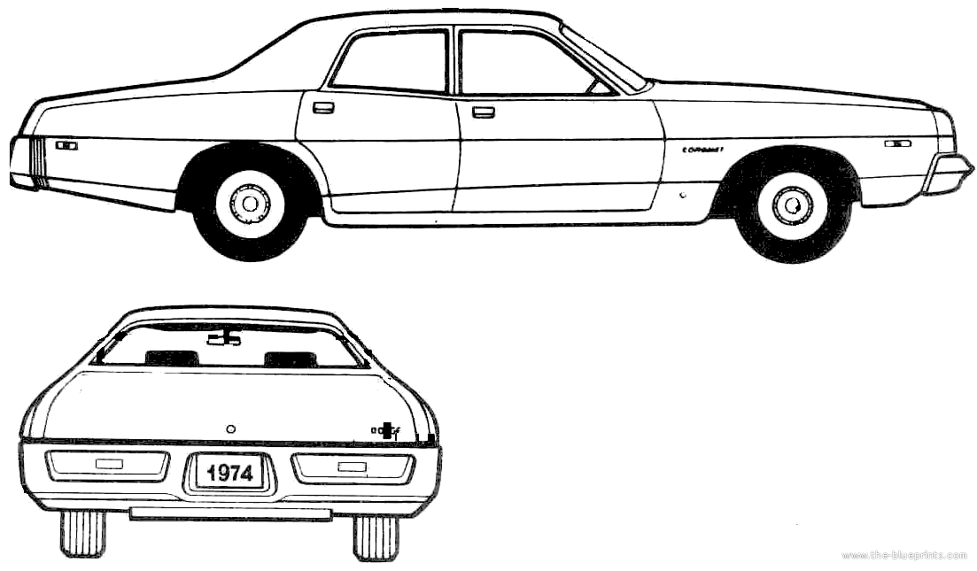 3dcar.ru*blueprints*Other*Dodge_Charger_1969 on 1970 Dodge Monaco