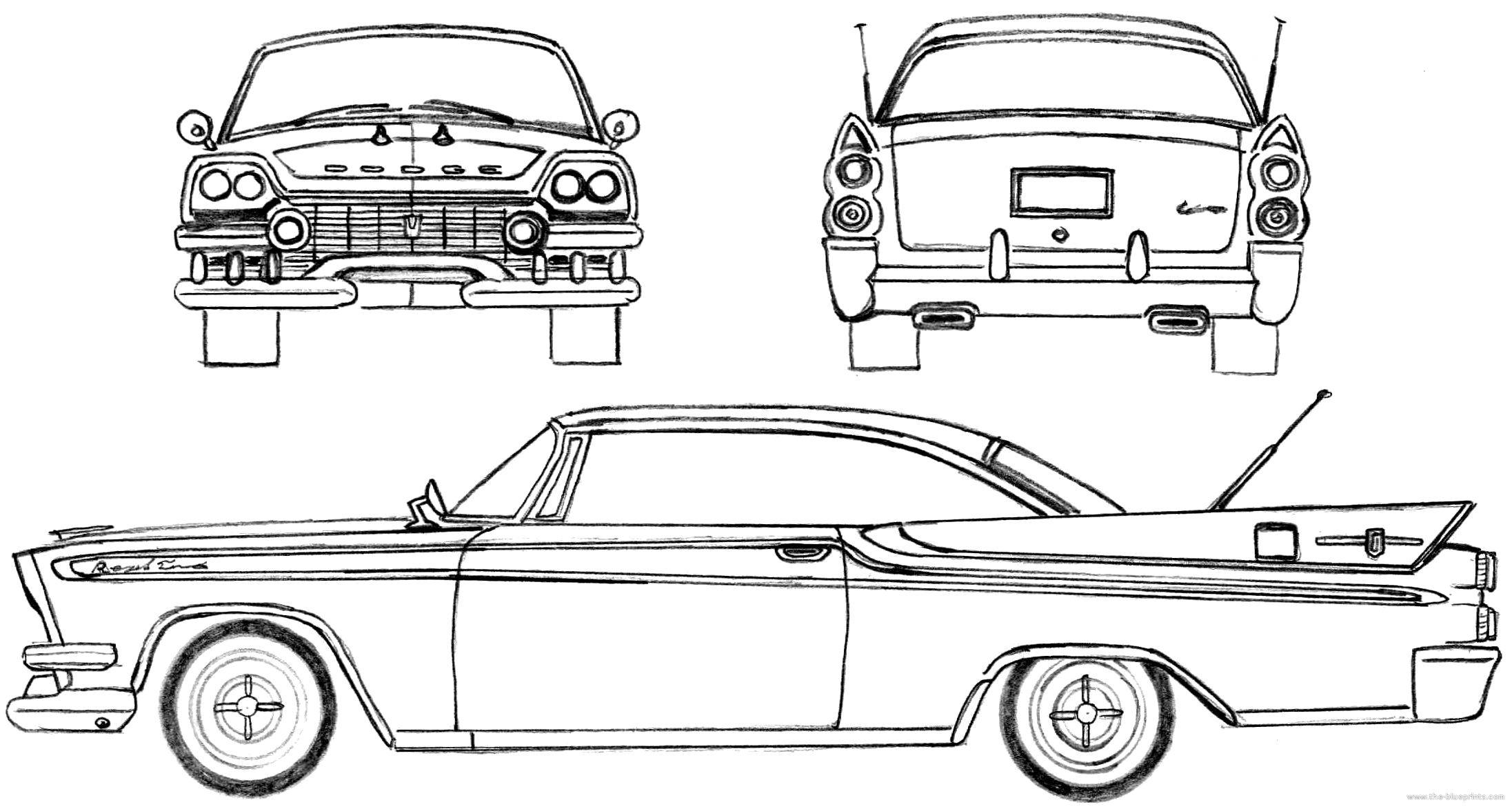 Pickup together with 3 together with Chevroletindex together with 1958 Dodge Regal Lancer together with Classic Car Coloring Pages. on 1955 ford police car