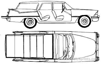 Dodge cars online car repair manuals and wiring diagrams for Station wagon coloring pages