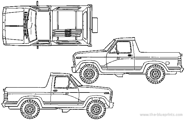 blueprints  u0026gt  cars  u0026gt  ford  u0026gt  ford bronco  1980