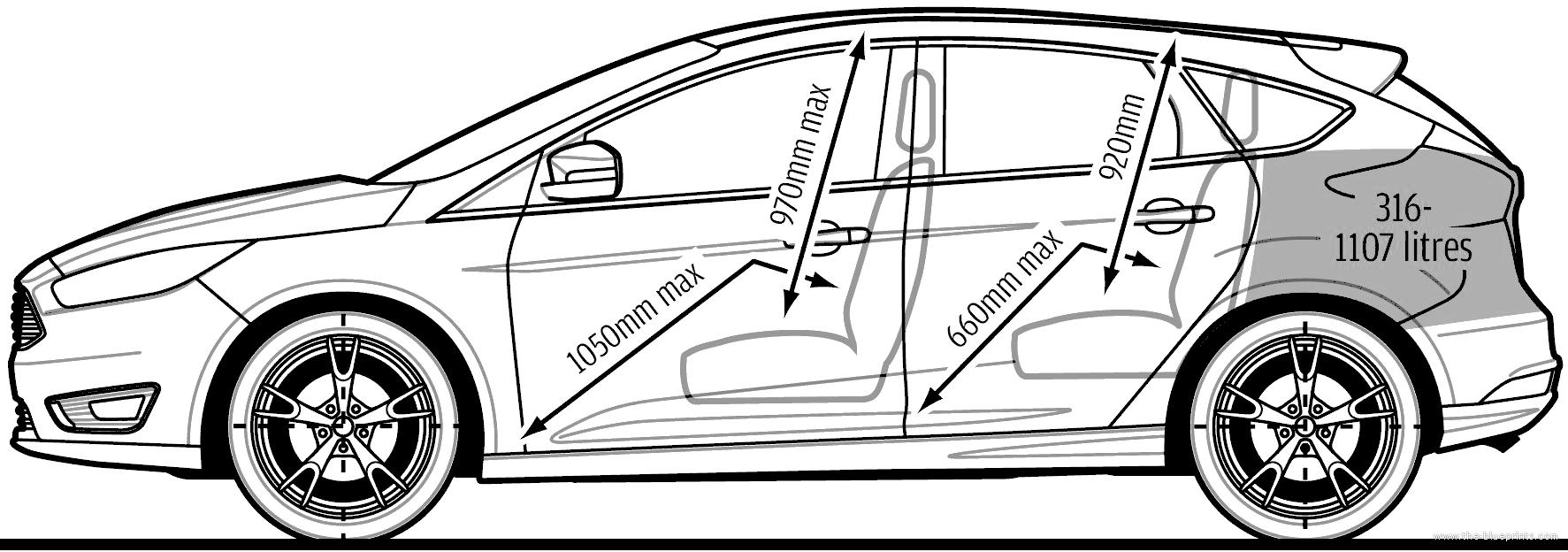 the blueprints cars ford ford focus. Black Bedroom Furniture Sets. Home Design Ideas