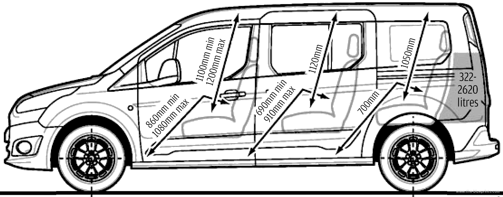 The-Blueprints.com - Blueprints > Cars > Ford > Ford Grand ...