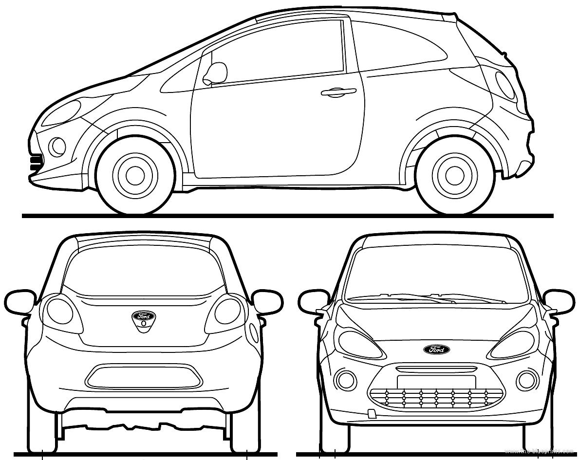 dimensions of ford ka