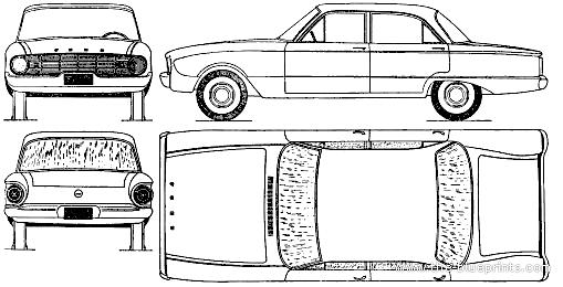 blueprints  u0026gt  cars  u0026gt  ford  u0026gt  ford falcon  1961