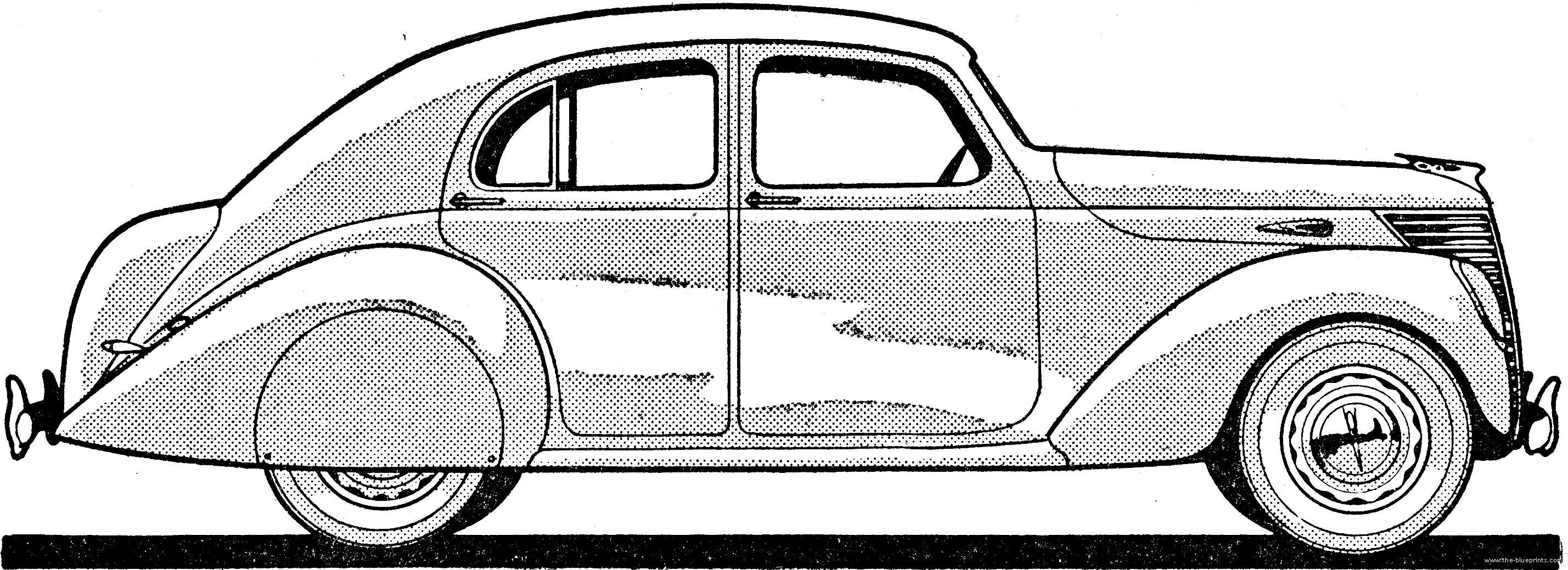 Magnificent Vintage Car Blueprints Composition - Wiring Standart ...