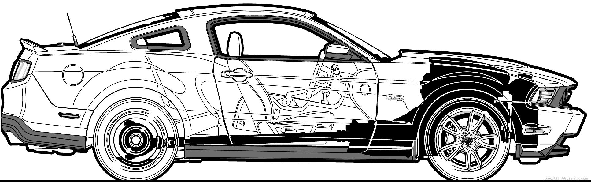 Скачать чертежи автомобилей ford
