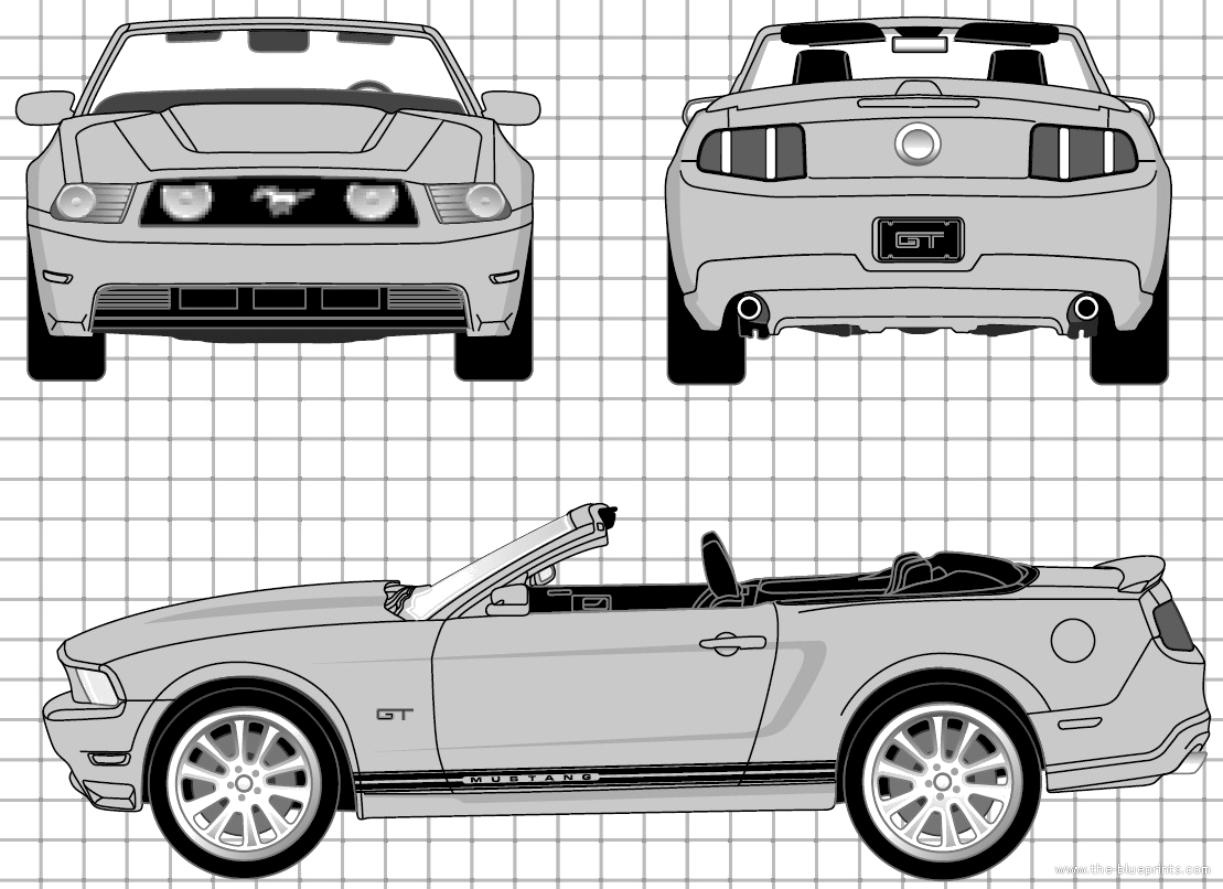Ford Mustang GT Convertible (2010)