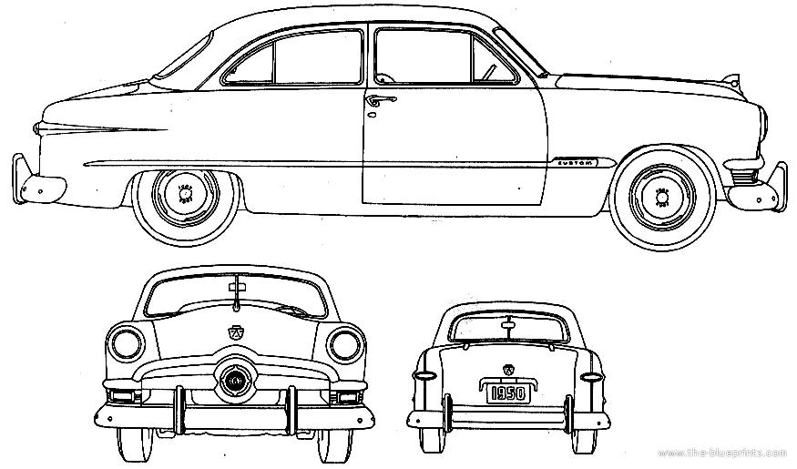 blueprints  u0026gt  cars  u0026gt  ford  u0026gt  ford v8 custom deluxe tudor  1950