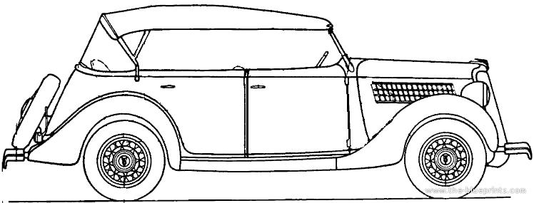 blueprints  u0026gt  cars  u0026gt  ford  u0026gt  ford v8 deluxe convertible