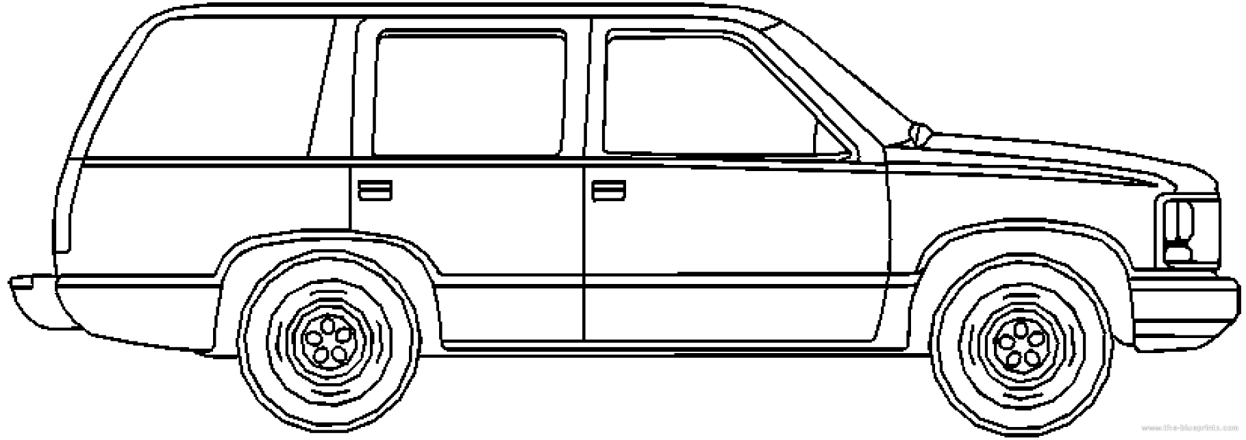 blueprints  u0026gt  cars  u0026gt  gmc  u0026gt  gmc envoy  2002