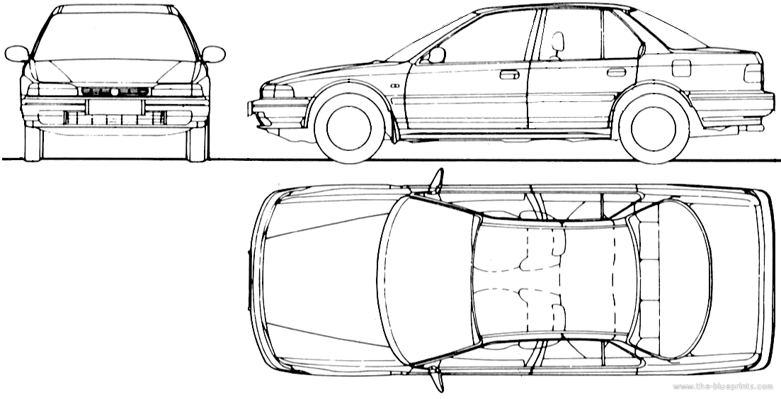 blueprints  u0026gt  cars  u0026gt  honda  u0026gt  honda accord  1993